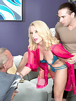 40 Something - Nancy gets ass-fucked while her husband watches - Nancy Jay (47 Photos)