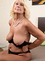 60 Plus MILFs - Regi Gets Her Creampie - Regi (45 Photos)