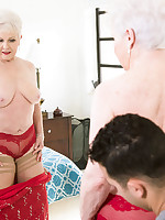60 Plus MILFs - Jewel fucks her granddaughter's boyfriend - Jewel (52 Photos)
