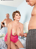 60 Plus MILFs - Is Bea's hubby a cuckold? Or was he in on this? - Bea Cummins (44 Photos)