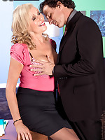 60 Plus MILFs - The Boss Has A Creampie For Bethany - Bethany James (52 Photos)