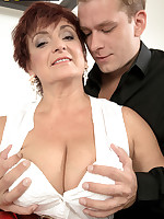 50 Plus MILFs - Big-titted divorcee Jessica is hot for cock - Jessica Hot (45 Photos)