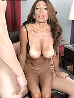 50 Plus MILFs - First-timer's encore: two cocks - Layla LaMora (39 Photos)